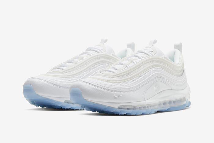 Nike Air Max 97 White Ice Pair