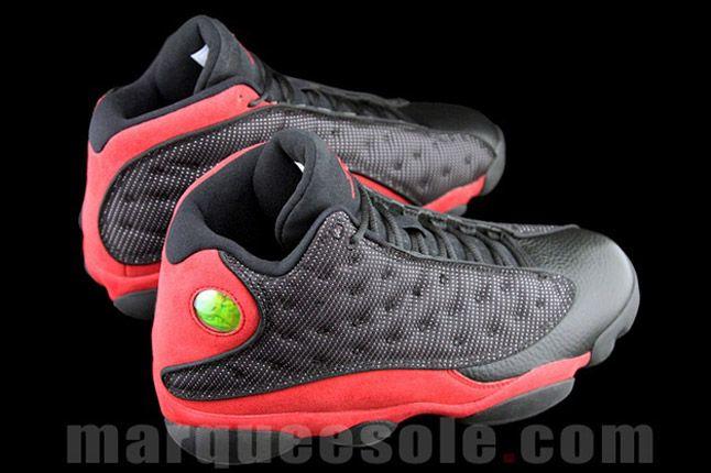 Air Jordan 13 Bred Heel Pair 1