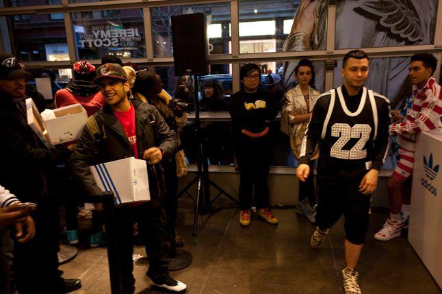 Jeremy Scott In Store Adidas Originals Soho New York 56 1