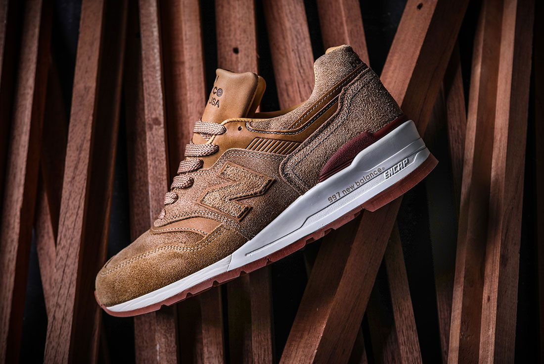 Red Wings New Balance 997 Sneaker Freaker Side