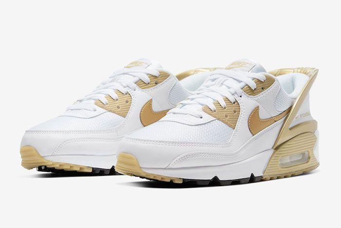 Nike Air Max 90 Flyease Gold Toe
