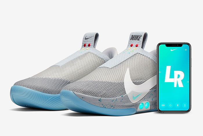 Nike Adapt Bb Wolf Grey Toe