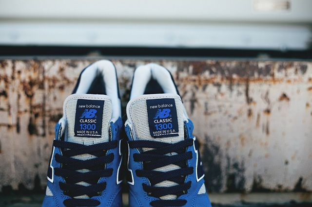 New Balance 1300 Blue Suede American Rebels Pack 1
