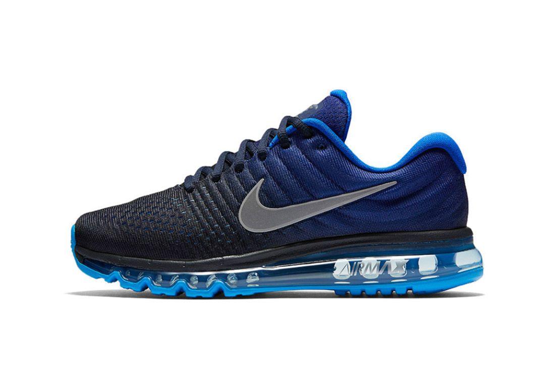Nike Air Max 2017 Black Blue 2