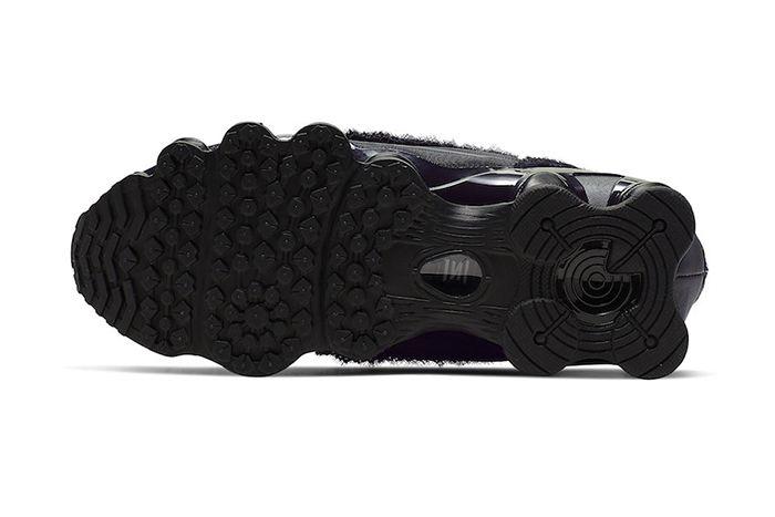 Comme Des Garcons Nike Shox Tl Black Cj0546 001 Release Date Outsole