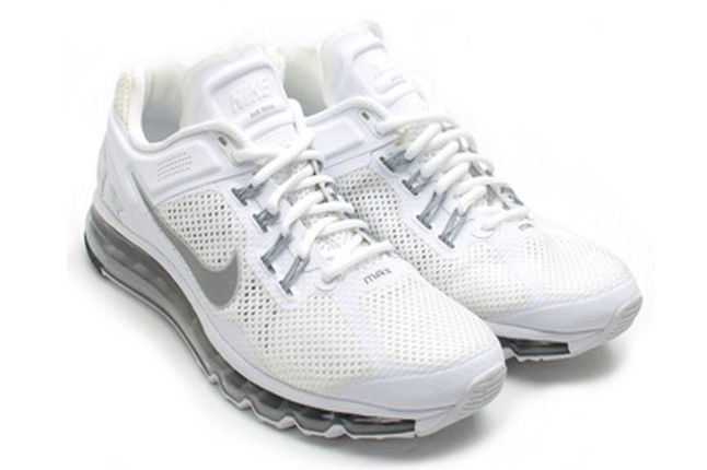 Nike Air Max 2013 White Quater Front 1