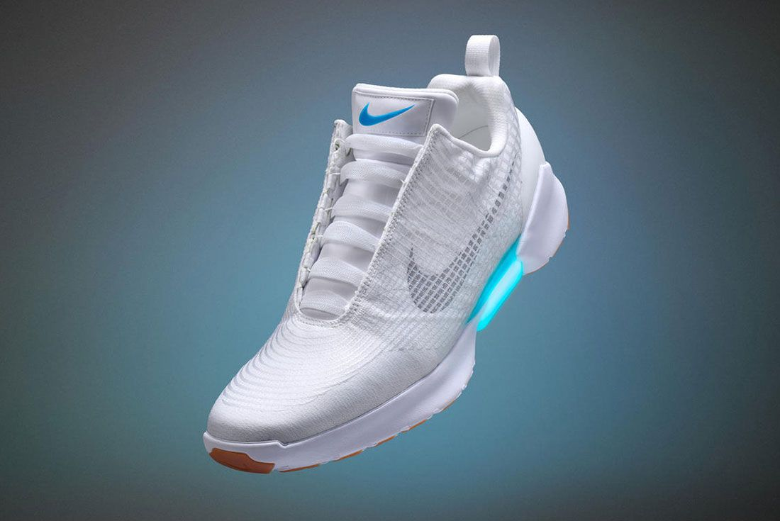 Matreial Matters Nike Hyperadapt White 1
