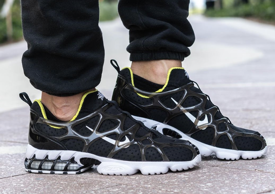 Stussy x Nike Air Zoom Spiridon KK Black