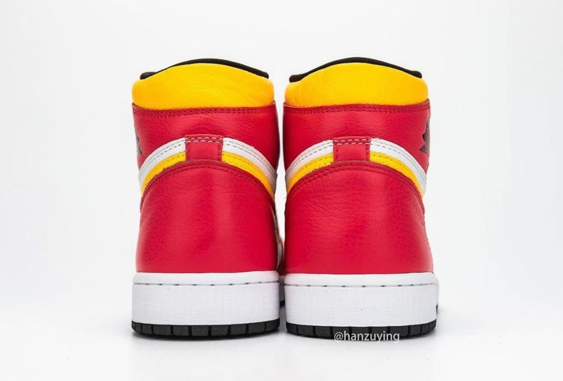 Air Jordan 1 High OG 'Light Fusion Red'