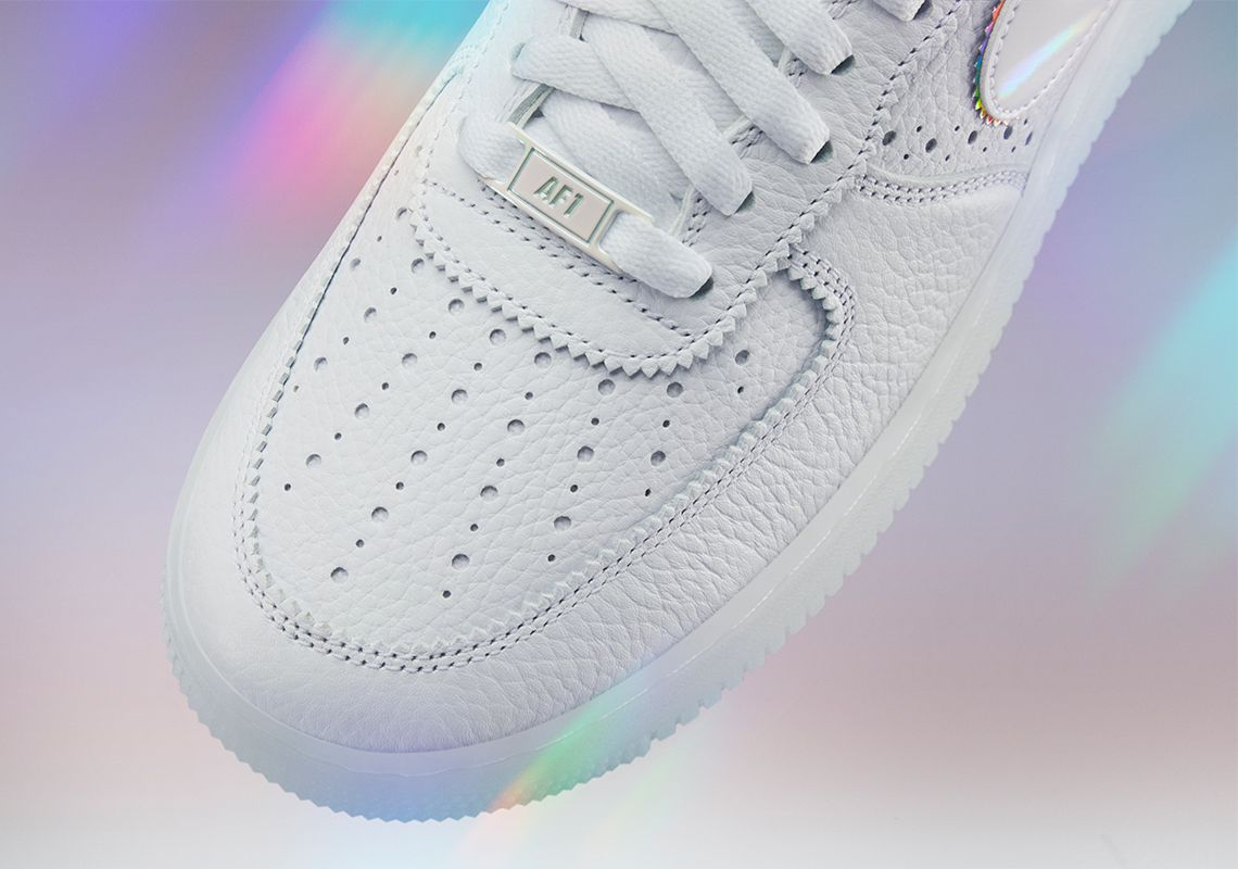 Nike BeTrue Air Force 1 Toe Box