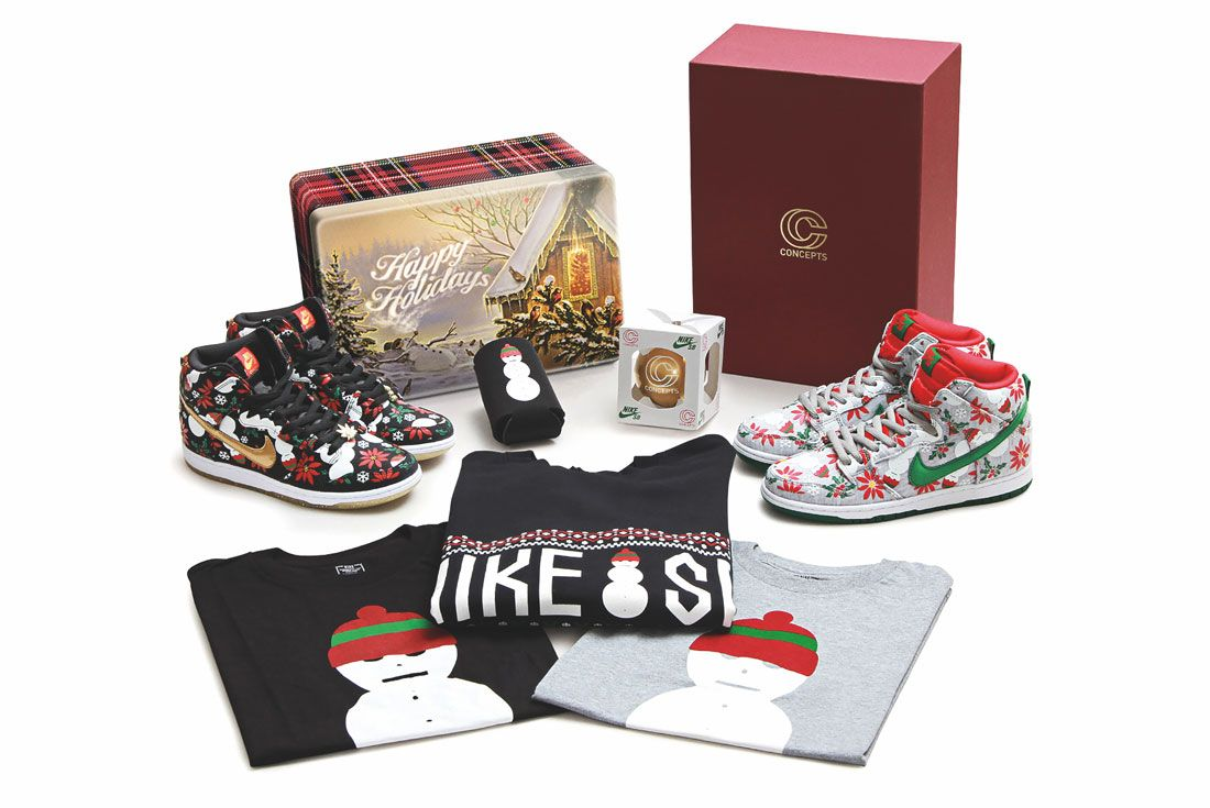 Concepts Nike Sb Ugly Sweater