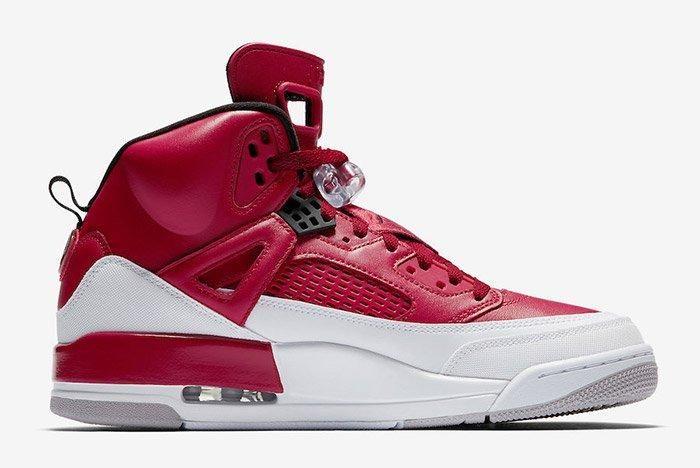 Air Jordan Spizike Gym Red White 3