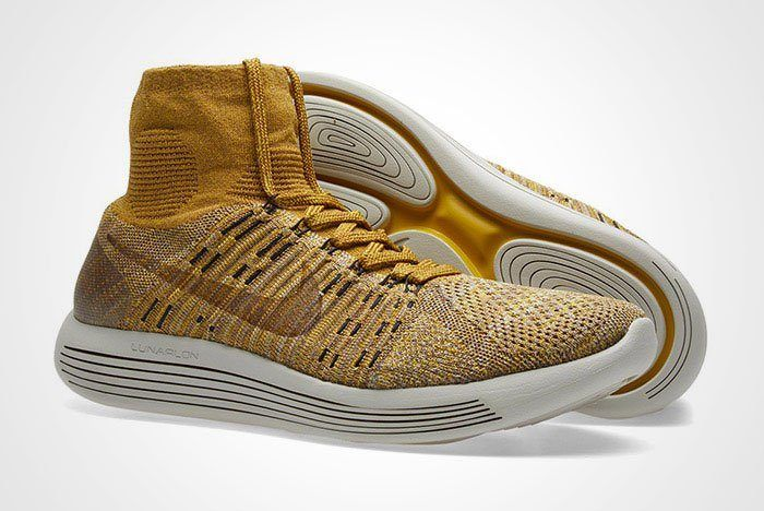 Nikelab Lunarepic Flyknit Golden Beige Brown Thumb