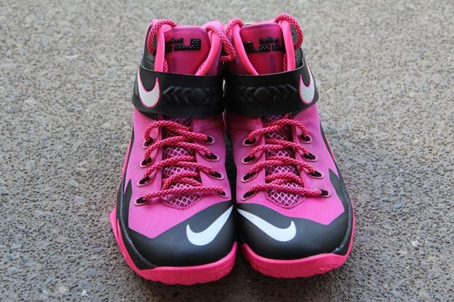 Nike Zoom Le Bron Soldier 8 Think Pink 6