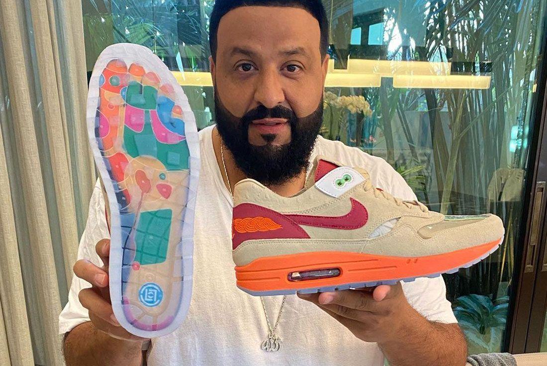 DJ Khaled CLOT Nike Air Max 1 Kiss of Death 2021 Retro