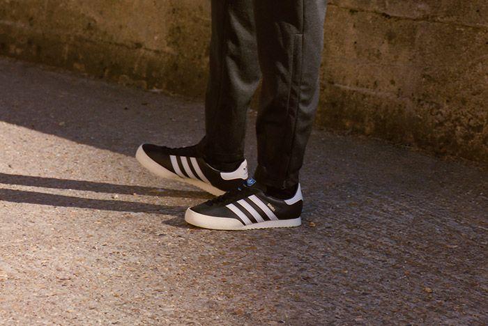 Adidas Spezial Samba Black White 4