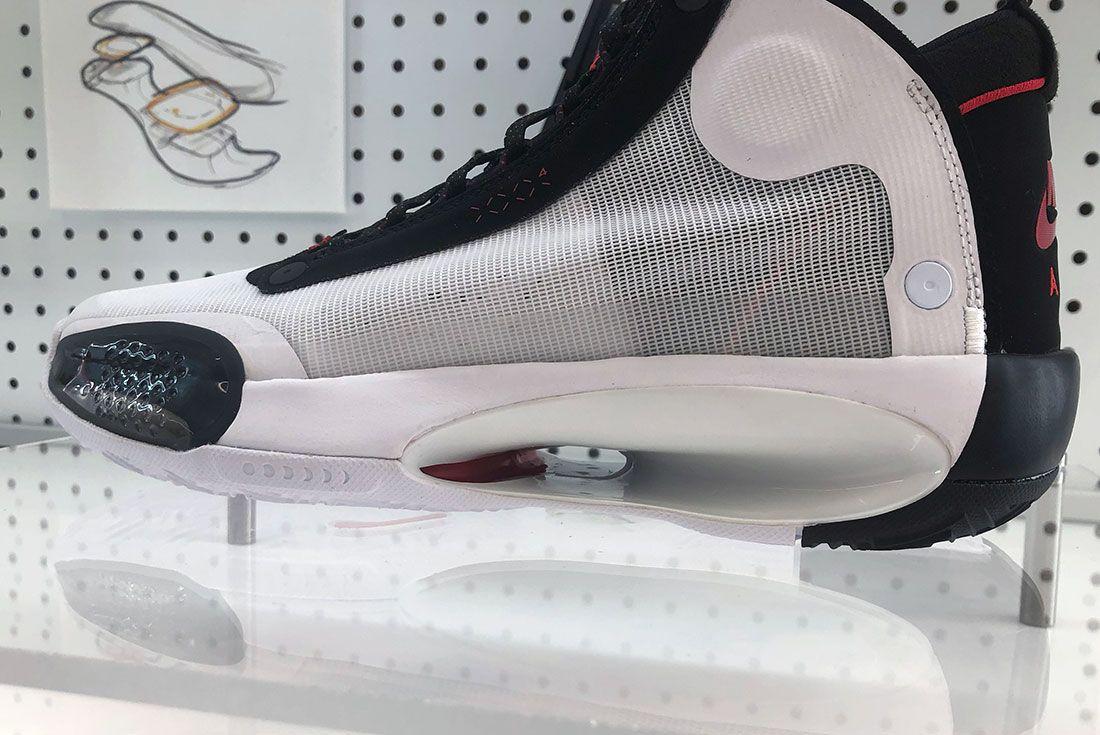 Air Jordan 34 Sneaker Freaker Exclusive Oregon20 Sole Up Close