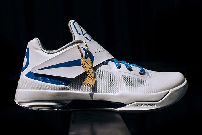 Nike Kd 4 White Blue Art Of A Champion 1