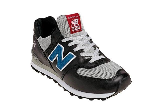 New Balance Race Inspired 574 Black Angle 1