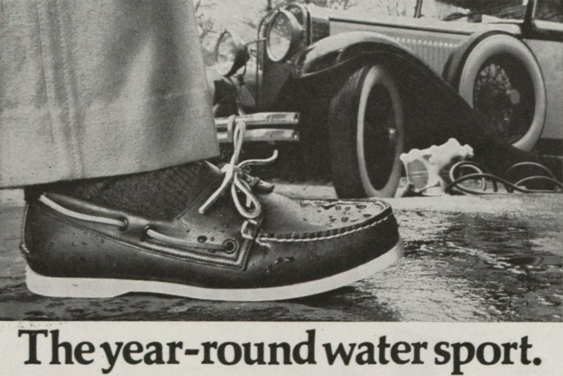 History Sperry Top Sider Advertisement 1976