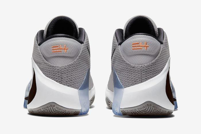 Nike Zoom Freak 1 Atmosphere Grey Heels