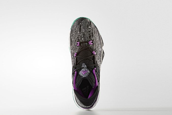 Adidas Crazylight Boost Black Shock Purple 6