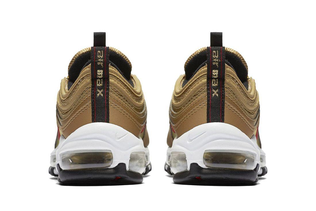 Nike Air Max 97 Metallic Gold 2017 Retro 3