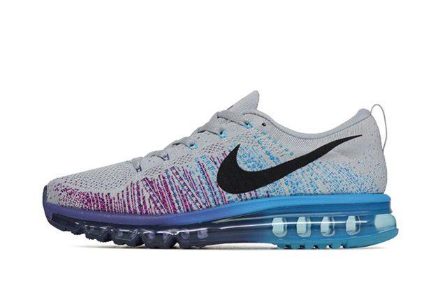 Nike Flyknit Max Wolf Grey Court Purple 21
