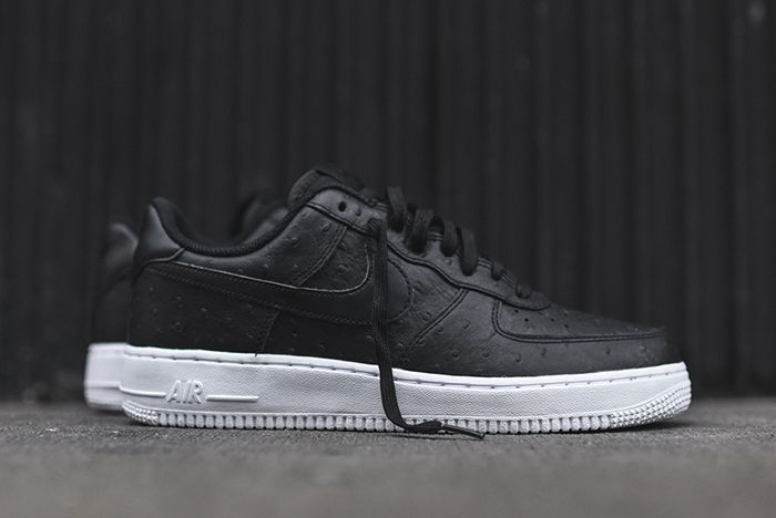 Nike Air Force 1 07 Lv8 Black Ostrich 2