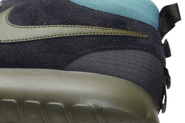 Nike Roshe Run Sneakerboot Darkloden Mineral Teal 1