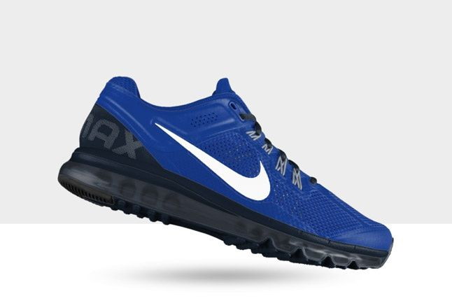 Nikeid Air Max Blue White Far 1
