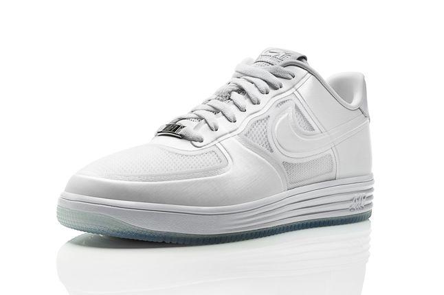 Nike Lunar Force One White Ice 3Rd Angle Profile 1