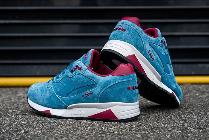 Diadora S8000 Made In Italy Ensign Blue 1