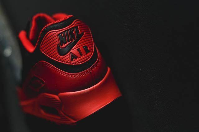 Nike Air Max 90 Gym Redblack4