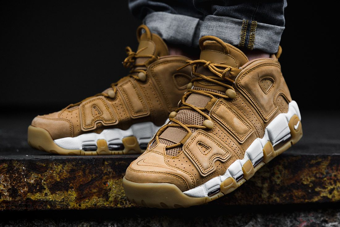 Nike Air More Uptempo Wheat 2