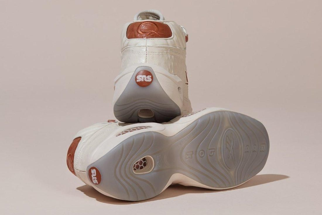 Sneakersnstuff X Reebok Question Mid 5