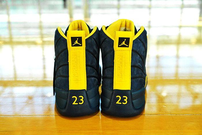 Psny X Michigan Jordan 12 Release 2 Sneaker Freaker