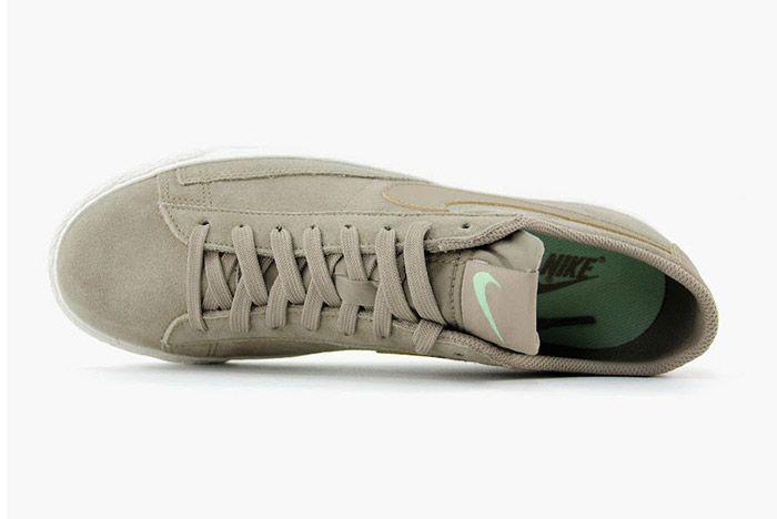 Nike Blazer Low Khaki Fresh Mint 2