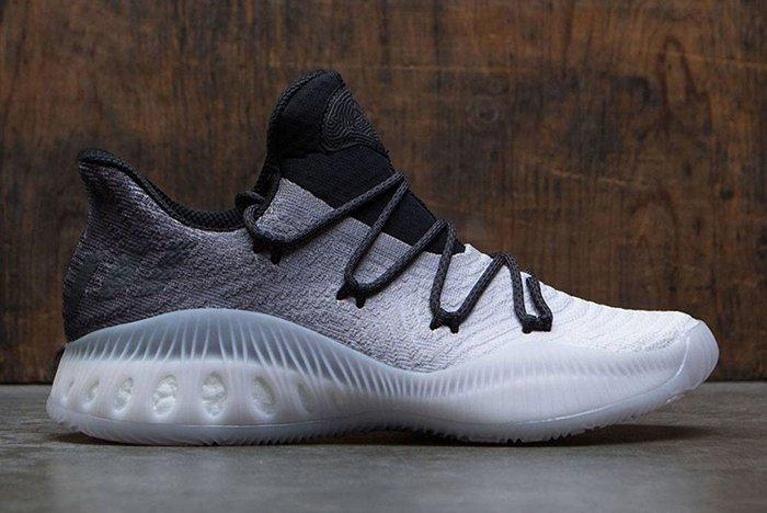 Adidas Crazy Explosive Low Primeknit Grey Black White Fade 1