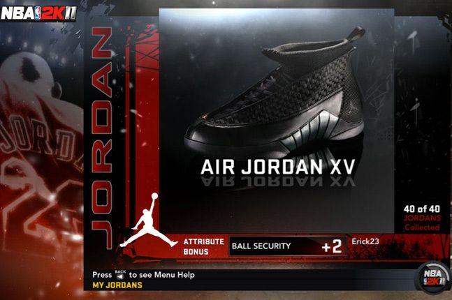 Jordan Nba 2K11 Xv 1