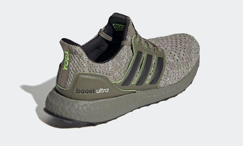 Star Wars adidas UltraBOOST Yoda Heel