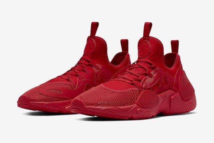 Nike Huarache Edge Txt University Red Pair