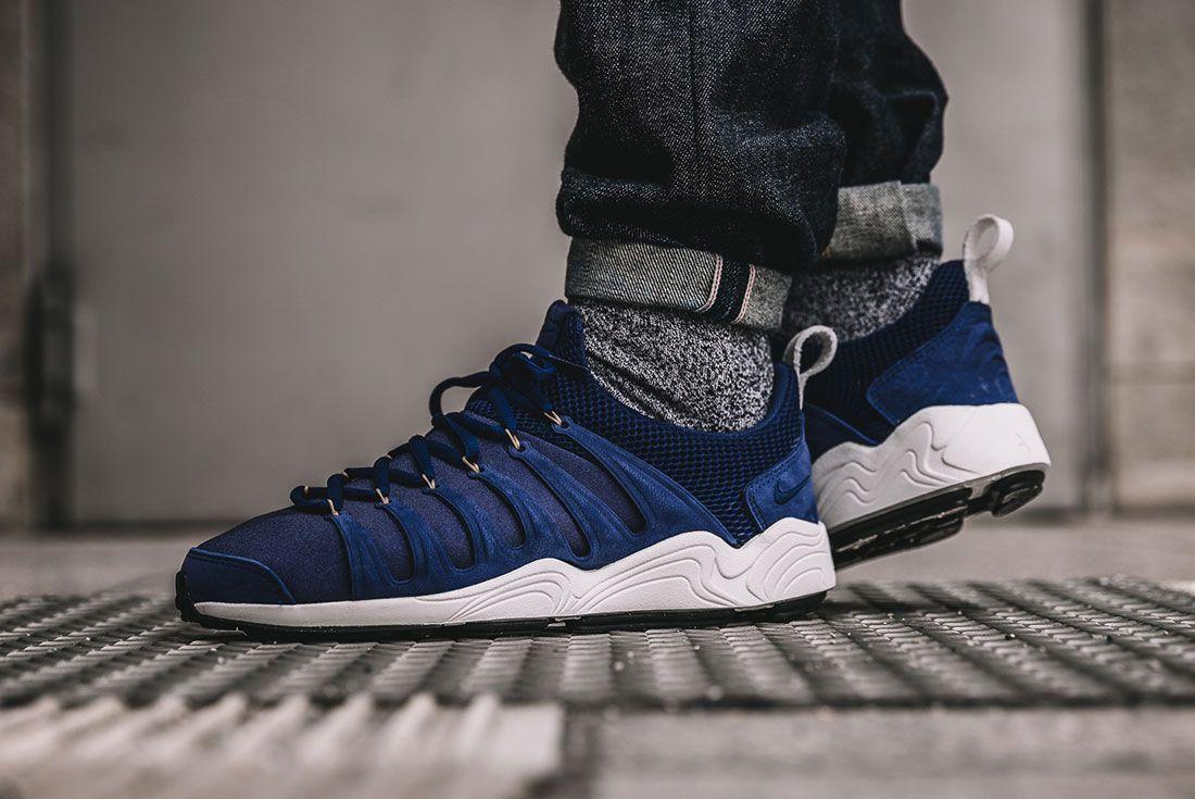 Nikelab Air Zoom Spirimic Blue On Foot