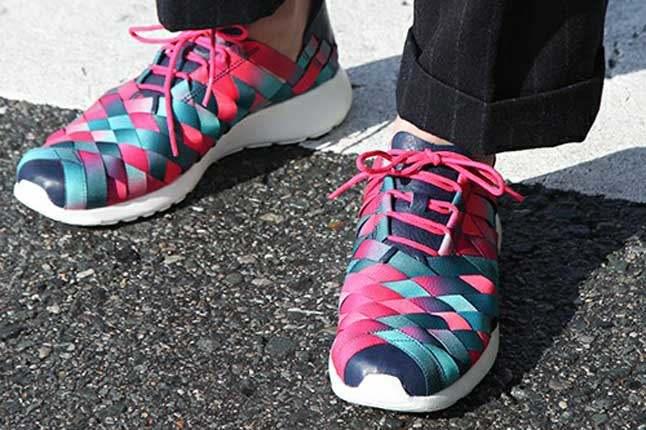 Nike Roshe Run Woven Nagoya Marathon Onfoot 1