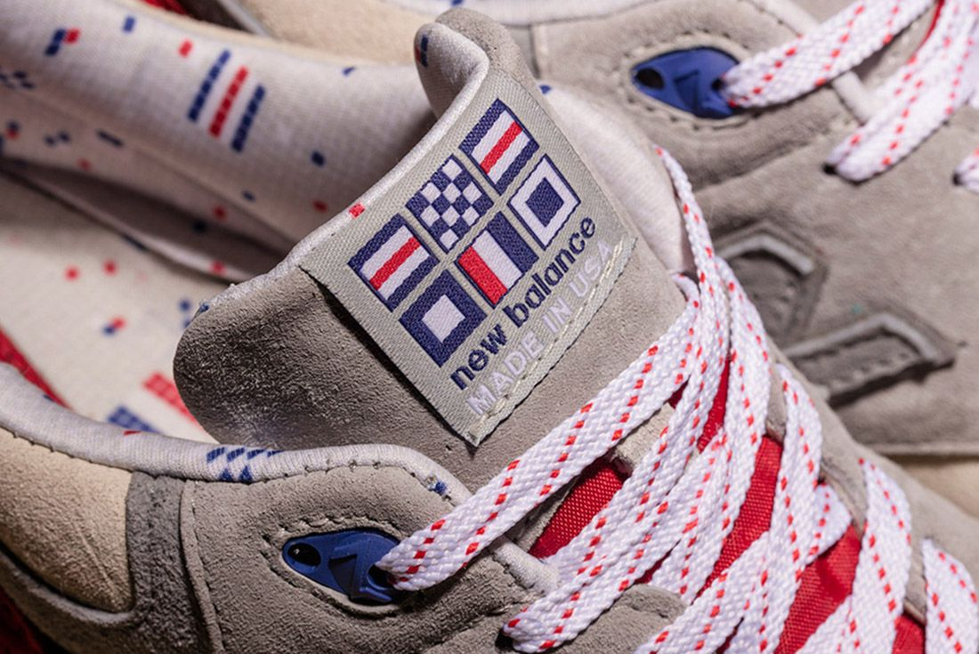 New Balance 999 Hyannis Concepts Red 6
