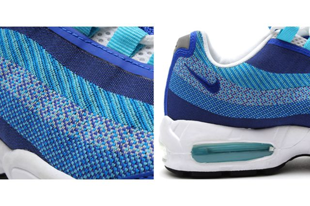 Nike Air Max 95 Jacquard Triple Blue 2