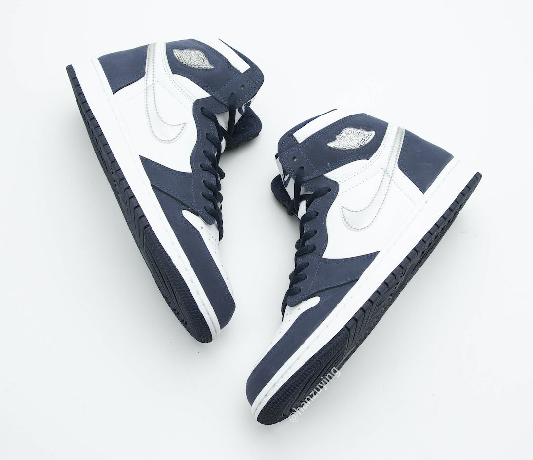 Air Jordan 1 CO JP Midnight Navy Top