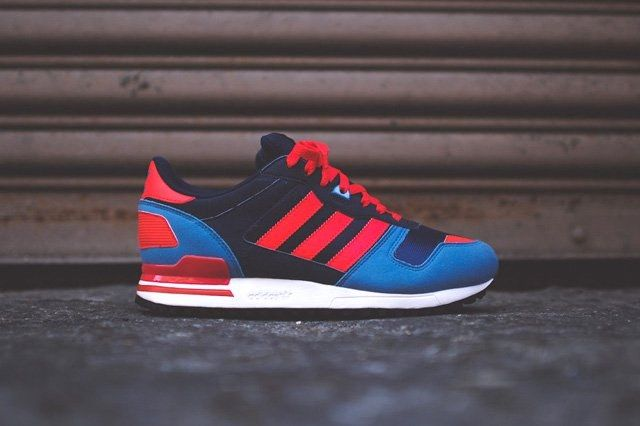 Adidas Zx 700 Navy Blue Red 2