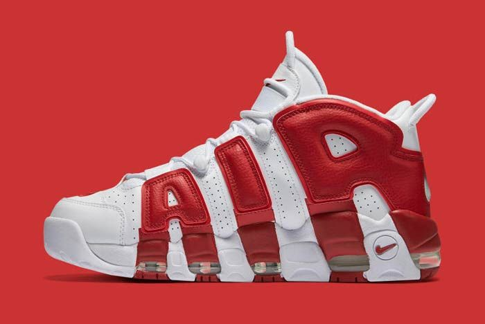 Nike Air Uptempo Red 5