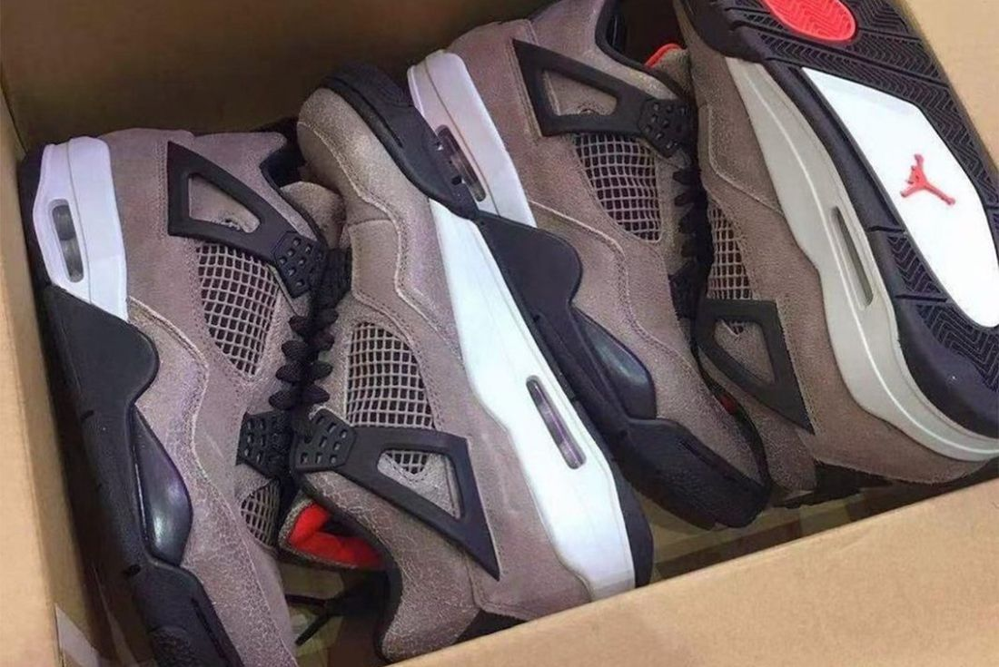 air jordan 4 taupe haze leak